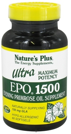 DROPPED: Nature's Plus - Ultra EPO 1500 mg. - 60 Softgels CLEARANCE PRICED