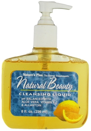 DROPPED: Nature's Plus - Natural Beauty Cleansing Liquid - 8 oz.