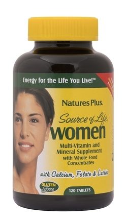 Nature's Plus - Source of Life Women - 120 Vegetarian Tablets