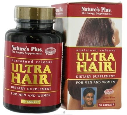 DROPPED: Nature's Plus - Ultra Hair Sustained Release - 60 Tablets CLEARANCE PRICED