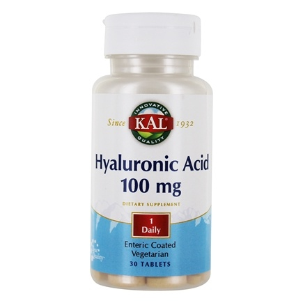 Kal - Hyaluronic Acid 100 mg. - 30 Tablets