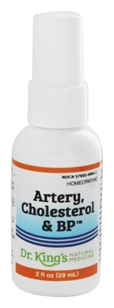King Bio - Homeopathic Natural Medicine Artery, Cholesterol & Blood Pressure - 2 oz.