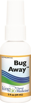 DROPPED: King Bio - Homeopathic Natural Medicine Bug Away - 2 oz. CLEARANCE PRICED