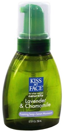 DROPPED: Kiss My Face - Liquid Soap Self Foaming Lavender & Chamomile - 8.75 oz. CLEARANCE PRICED