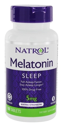 Zoom View - Melatonin Time Release