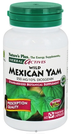 Zoom View - Herbal Actives Wild Mexican Yam