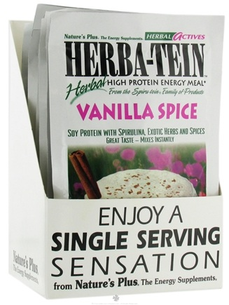 DROPPED: Nature's Plus - Herba-tein Vanilla Spice - 1 Packet(s)