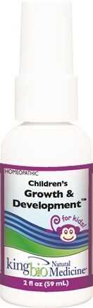 DROPPED: King Bio - Homeopathic Natural Medicine Children's Growth & Development - 2 oz. CLEARANCE PRICED