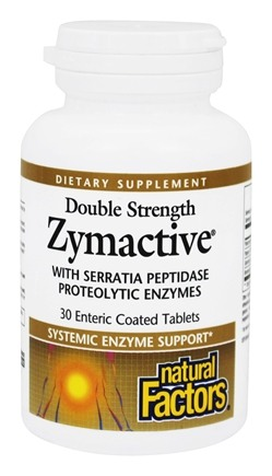 DROPPED: Natural Factors - Dr. Murray's Zymactive Double Strength - 30 Tablets