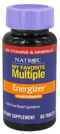 DROPPED: Natrol - My Favorite Multiple Energizer - 60 Tablets CLEARANCED PRICED