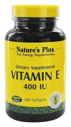DROPPED: Nature's Plus - Vitamin E 400 IU - 180 Softgels