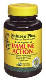 DROPPED: Nature's Plus - Immune Action Herbal Supplement - 60 Vegetarian Capsules