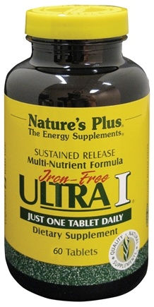 Zoom View - Ultra I Multi Nutrient Supplement Iron-Free Sustained Release