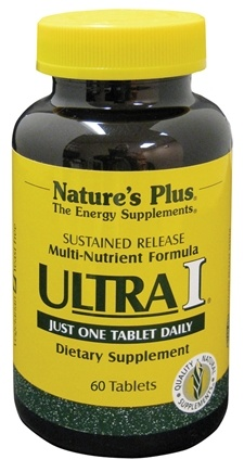 DROPPED: Nature's Plus - Ultra I Multi Nutrient Supplement Sustained Release - 60 Tablets CLEARANCE PRICED