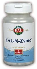 DROPPED: Kal - N Zyme - 100 Tablets