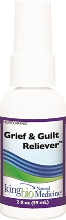 DROPPED: King Bio - Homeopathic Natural Medicine Grief & Guilt Reliever - 2 oz. CLEARANCE PRICED