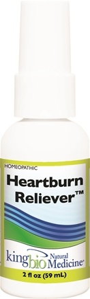 DROPPED: King Bio - Homeopathic Natural Medicine Heartburn Reliever - 2 oz.