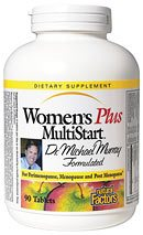 DROPPED: Natural Factors - Dr. Murray's MultiStart Women's Plus Multivitamin & Mineral CLEARANCE PRICED - 90 Tablets