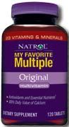 DROPPED: Natrol - Original Multivitamin Iron Free - 120 Tablets CLEARANCE PRICED