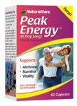 DROPPED: NaturalCare - Peak Energy - 60 Capsules