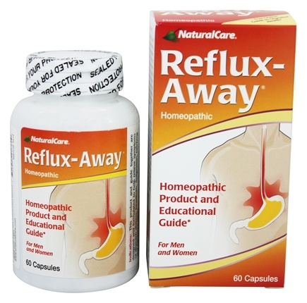 NaturalCare - Reflux-Away - 60 Capsules