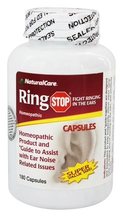 NaturalCare - Ring Stop - 180 Capsules