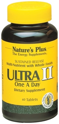 DROPPED: Nature's Plus - Ultra II One-a-Day Multi Nutrient - 60 Tablets