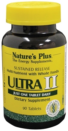 DROPPED: Nature's Plus - Ultra II Sustanined Release - 90 Tablets