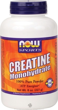 DROPPED: NOW Foods - Creatine Powder 227 g. - 8 oz. CLEARANCE PRICED