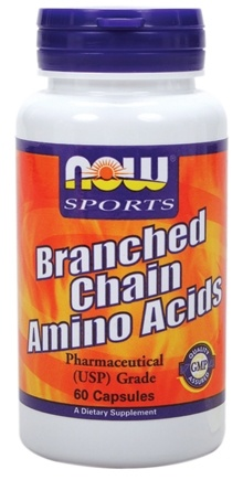 DROPPED: NOW Foods - Branched Chain Amino Acids CLEARANCE PRICED - 60 Capsules