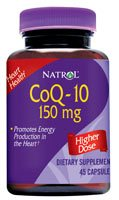 DROPPED: Natrol - CoQ-10 150 mg. - 30 Capsules CLEARANCE PRICED