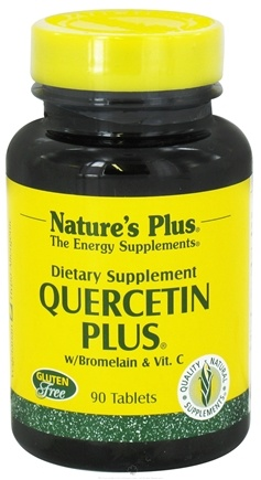 DROPPED: Nature's Plus - Quercetin Plus with Vitamin C and Bioflavonoids - 90 Tablets CLEARANCE PRICED
