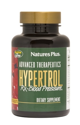 Nature's Plus - Hypertrol Rx Blood Pressure - 60 Tablets