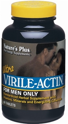 DROPPED: Nature's Plus - Ultra Virile-Actin - 60 Tablets