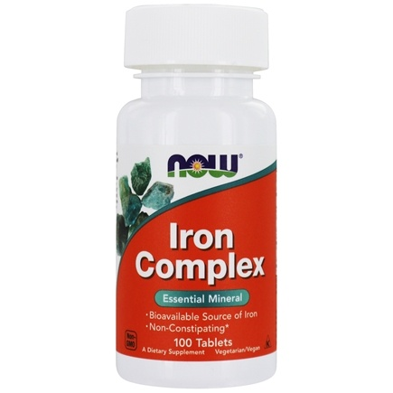 Zoom View - Iron Complex Vegetarian
