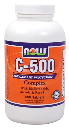 DROPPED: NOW Foods - C-500 Complex - 500 Tablets