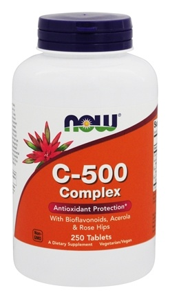 DROPPED: NOW Foods - C-500 Complex - 250 Tablets
