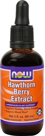 DROPPED: NOW Foods - Hawthorn Berry Extract Vegetarian - 2 oz.