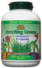 DROPPED: Natural Factors - Enriching Greens with Phytosomes - 90 Capsules