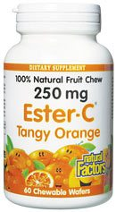 Zoom View - Ester-C Tangy Orange Chewables