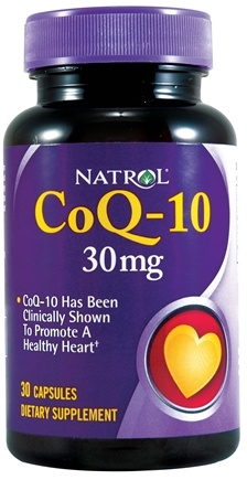 DROPPED: Natrol - CoQ-10 30 mg. - 30 Capsules CLEARANCE PRICED