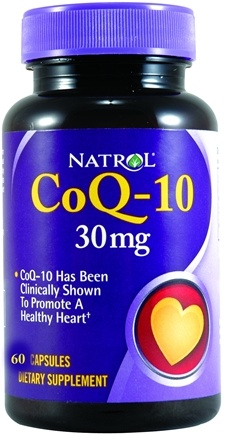 DROPPED: Natrol - CoQ-10 30 mg. - 60 Capsules CLEARANCE PRICED
