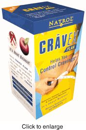 DROPPED: Natrol - Cravex - 60 Tablets