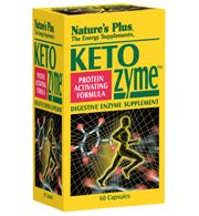 DROPPED: Nature's Plus - KetoZyme - 60 Capsules