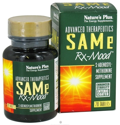 DROPPED: Nature's Plus - Same Rx Mood - 20 Tablets CLEARANCE PRICED
