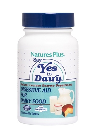 Nature's Plus - Say Yes To Dairy - 50 Chewable Tablets