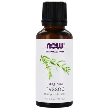 DROPPED: NOW Foods - Hyssop Oil - 1 oz.