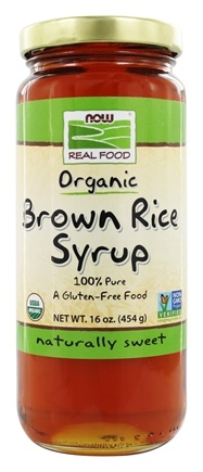 DROPPED: NOW Foods - Brown Rice Syrup Organic - 16 oz.