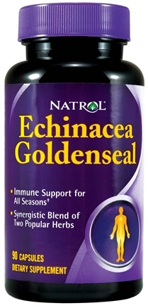 DROPPED: Natrol - Echinacea GoldenSeal - 90 Capsules CLEARANCE PRICED