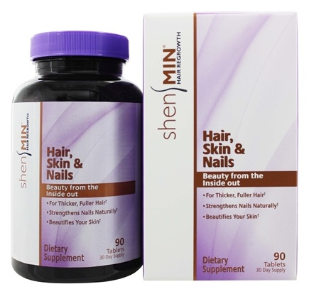 DROPPED: Shen Min - Hair, Skin & Nail Formula For Women - 90 Tablets